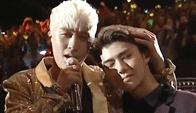 Bigbang与EXO基情互动解尴尬