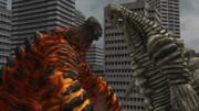 奥特曼格斗进化重生游戏 二代的哥莫拉怪兽