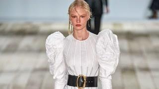Alexander McQueen 2020春夏巴黎时装发布会