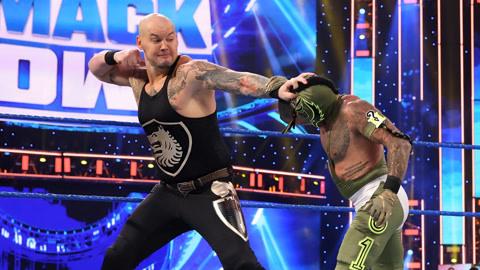 WWE SmackDown 20210116 第1117期 英文原声