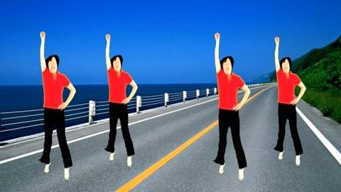 广场舞《迎亲》原创64步步子舞64步,适合大众跟跳